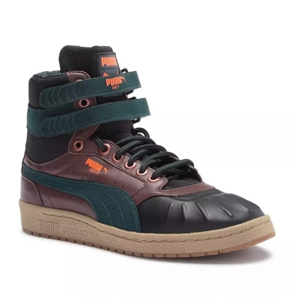 Puma Sky II Hi Duck Men s Winter Leather Boot dda1f3a35